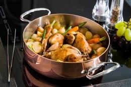 Kochen in Kupfer