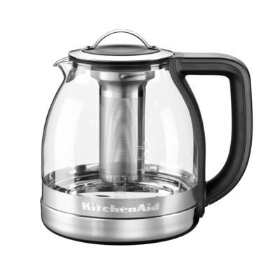 Teekocher mit Glaskanne