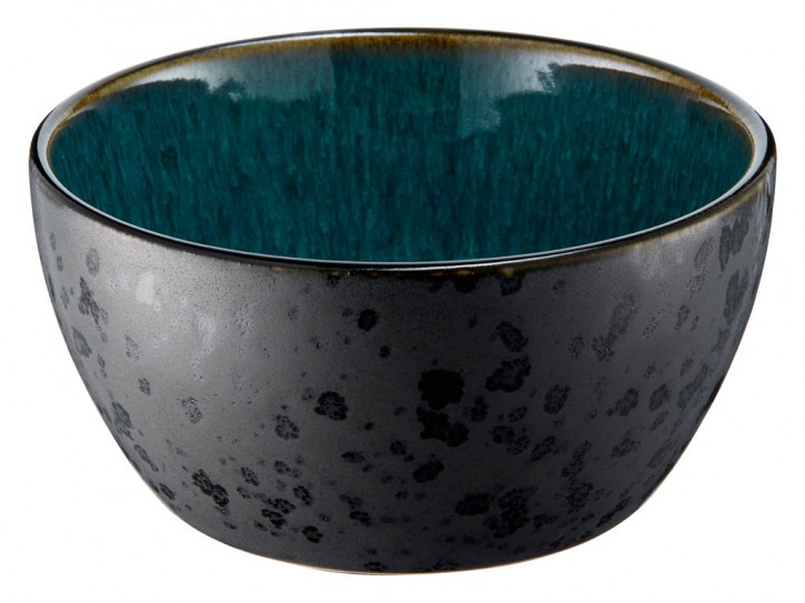 Bowl black/green 10 cm