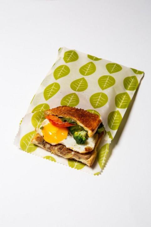 Wachstücher Sandwich- & Snackbeutel 2-Teilig