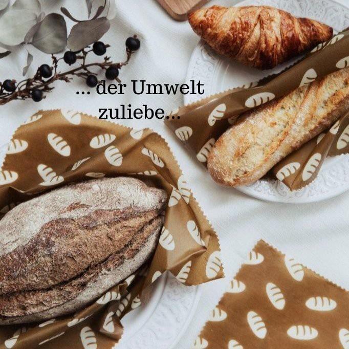 Wachstuch für Brote