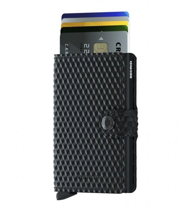 Miniwallet Cubic Black