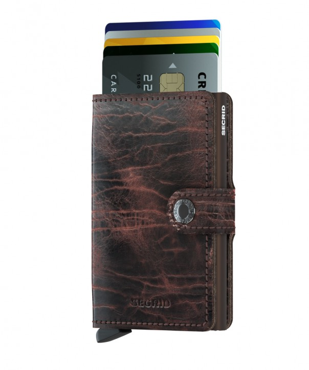 Miniwallet Dutch Martin Cacao-Brown