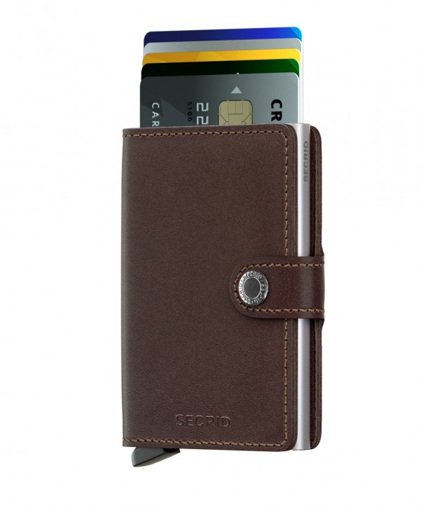 Original Miniwallet Dark Brown