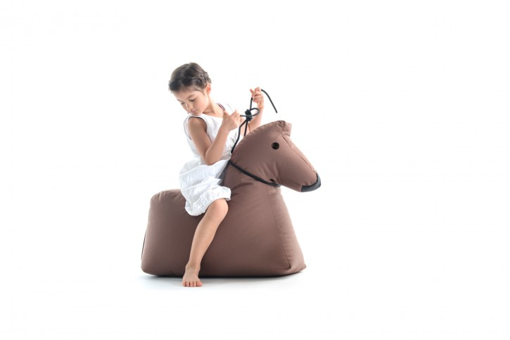 Pferd Lotte - braun Sitzsacktiere