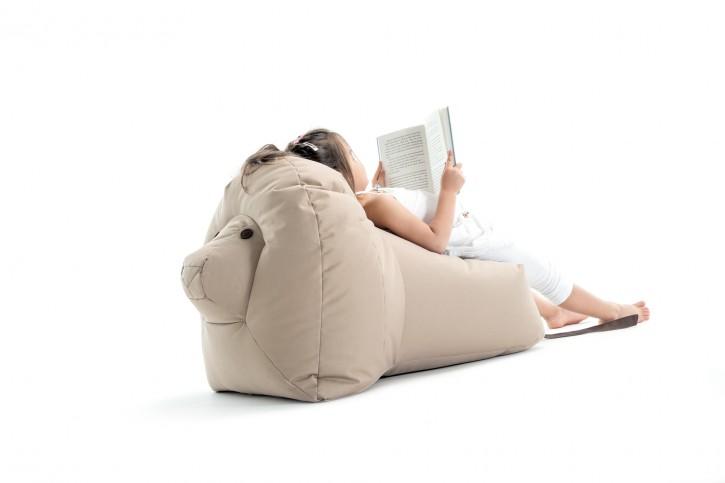Löwe Nora - beige Sitzsacktiere
