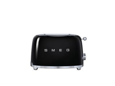 SMEG Toaster Schwarz