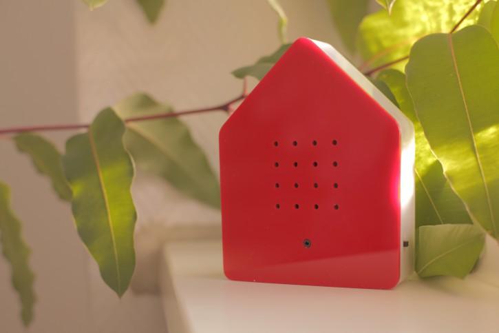Zwitscherbox Rot