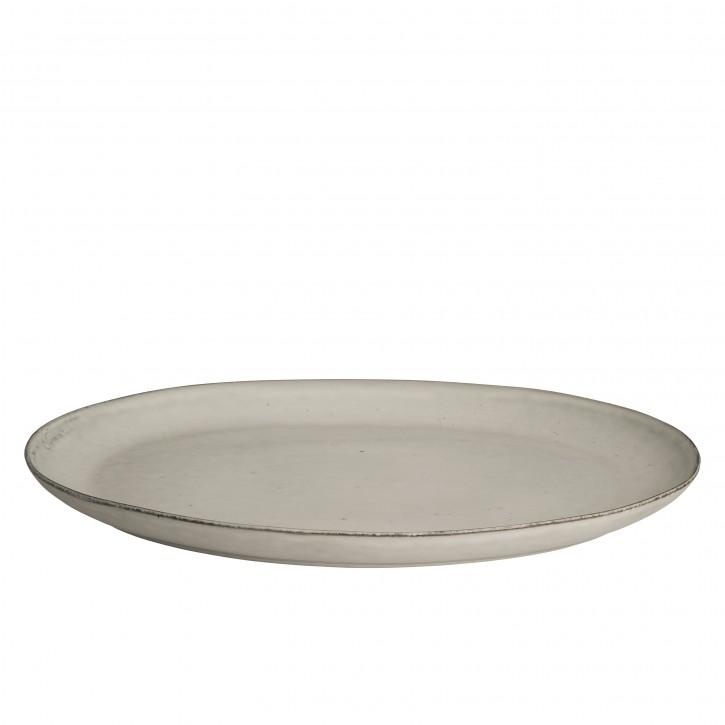 Platte oval Nordic Sand